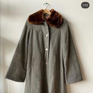 Vintage 60's Long Coat